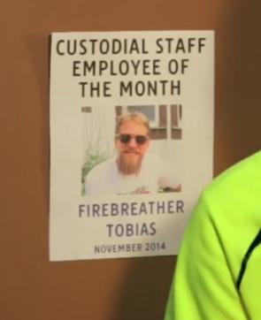as 'Firebreather Tobias' (image, 2015)
