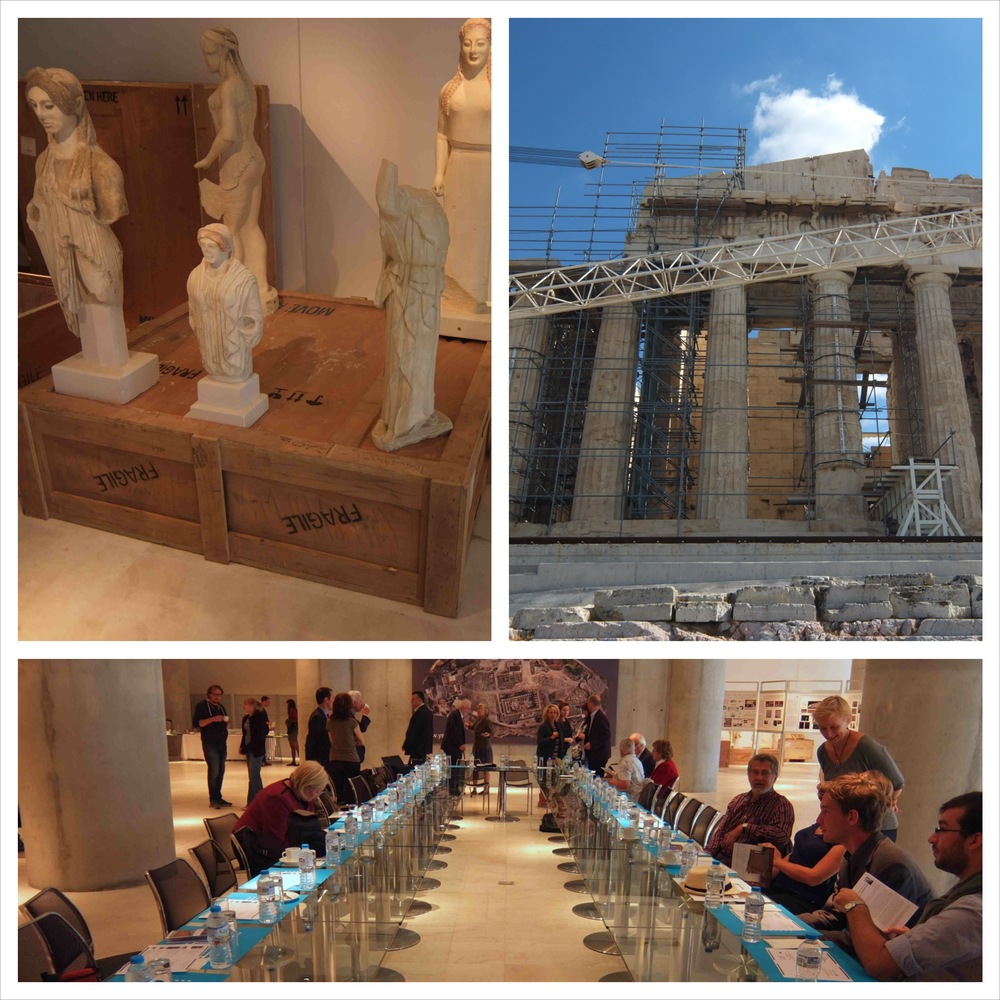Parthenon Sculptures, Parthenon Restoration and the meeting of the 'International Committee for the Reunification of the Parthenon Sculptures'