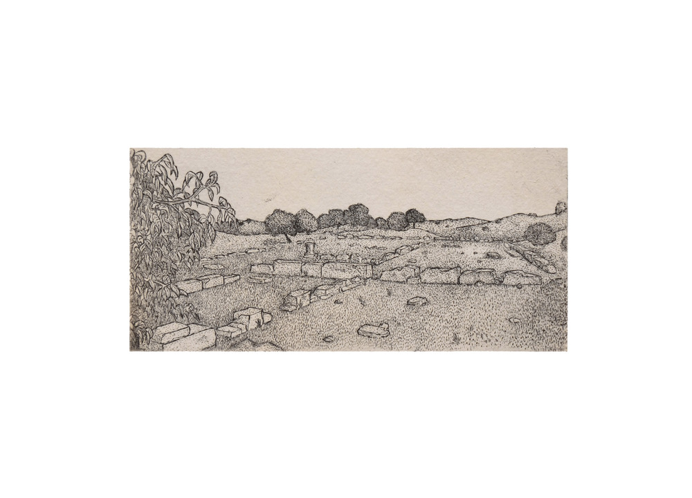 Available   6 x 13.5cm  Etching (edition of 10)   2013