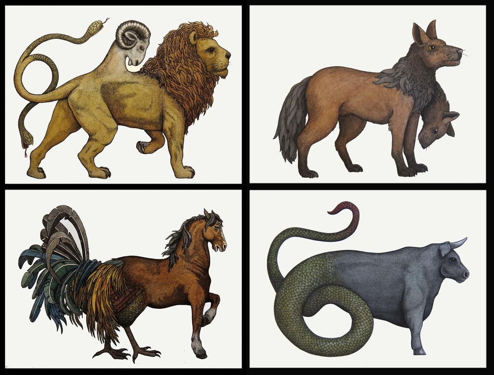 'Greek Mythological Creature Collection'