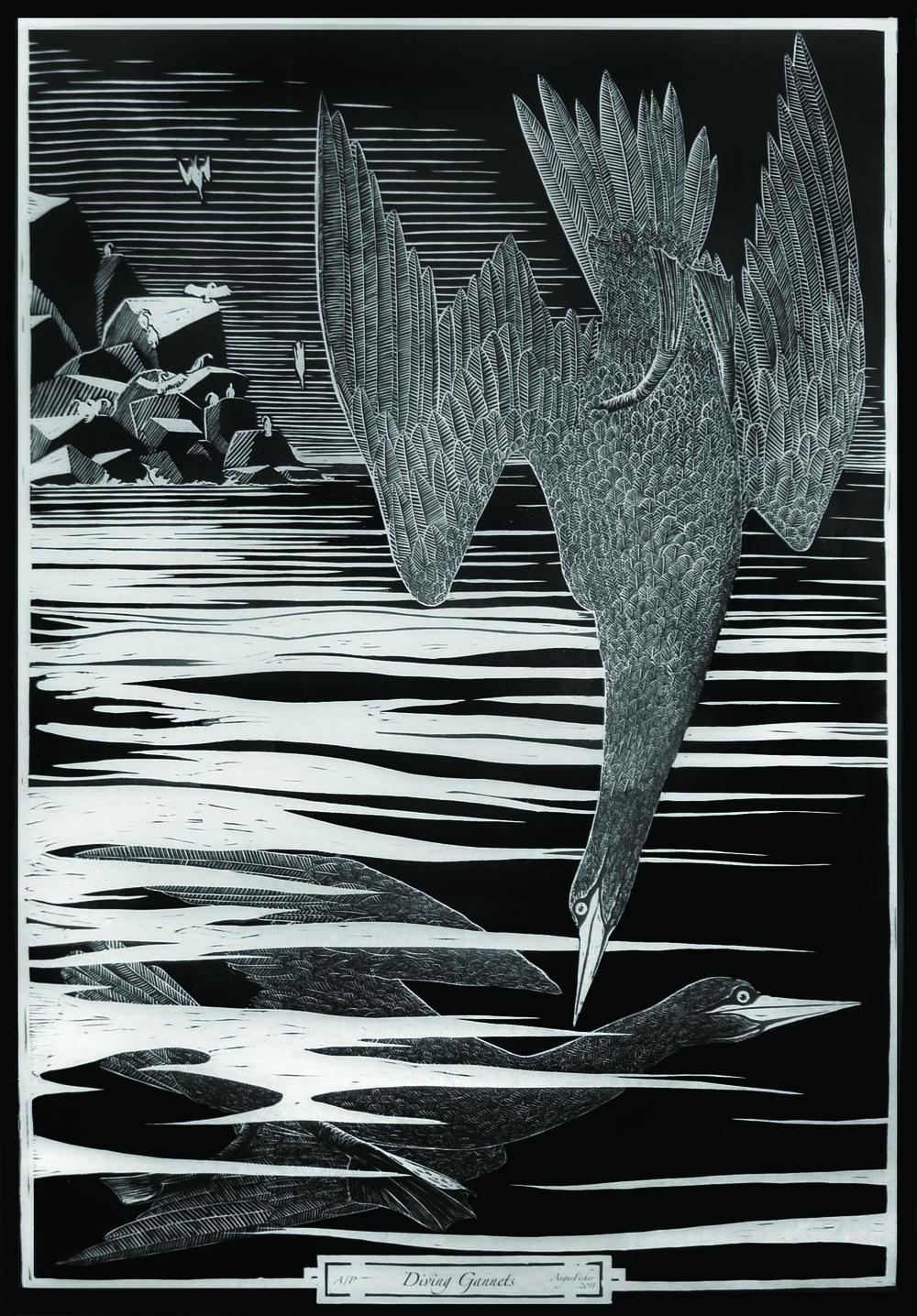 'Diving Gannets'