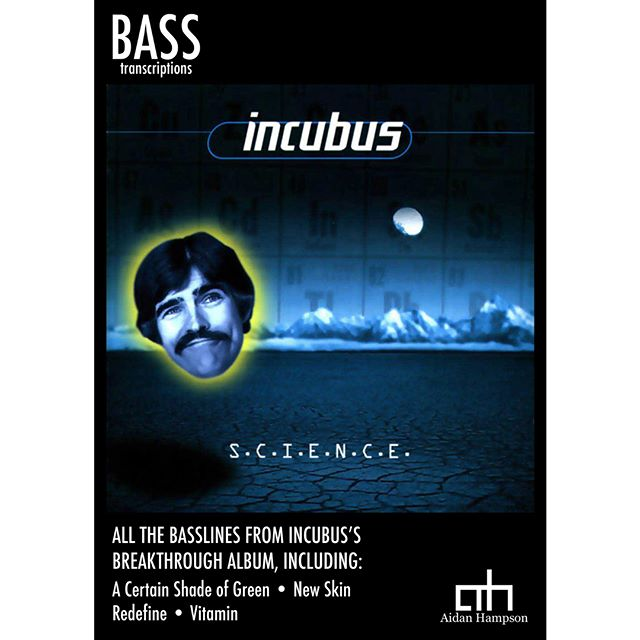 Incubus - S.C.I.E.N.C.E.  Bass Songbook - available now!  https://goo.gl/DS1Jhg