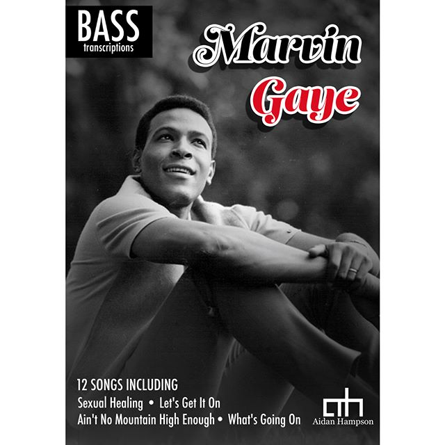 Marvin Gaye - Bass Songbook  Out now!  https://goo.gl/zWJpWC