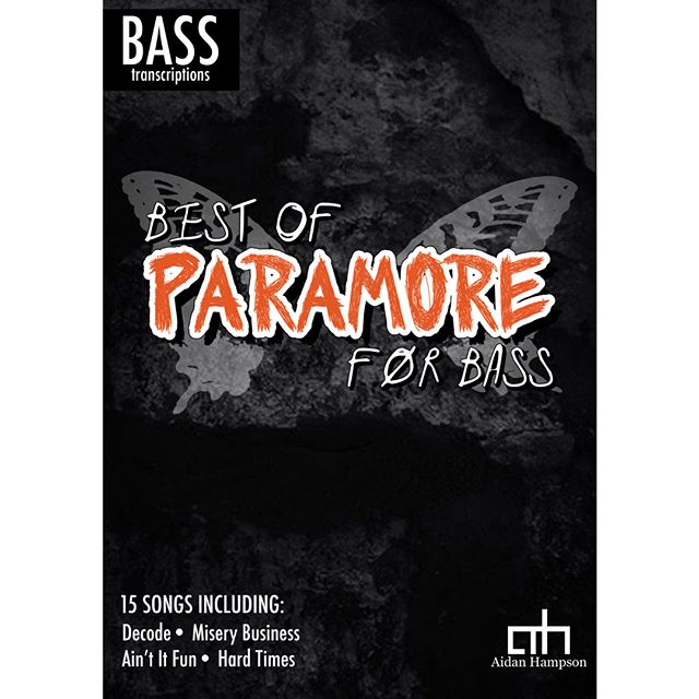 Best of Paramore for Bass - Out Now! Only $15  Click here for track listing and more info:  https://bit.ly/2xEKZ0R