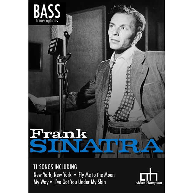 Frank Sinatra - Bass Songbook  Out now! Only $15  https://bit.ly/2MjUJkn