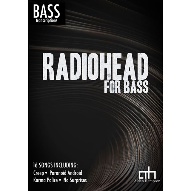 Best of Radiohead - out now!  16 complete bass transcriptions for $15  https://bit.ly/2qOH8bc for more info