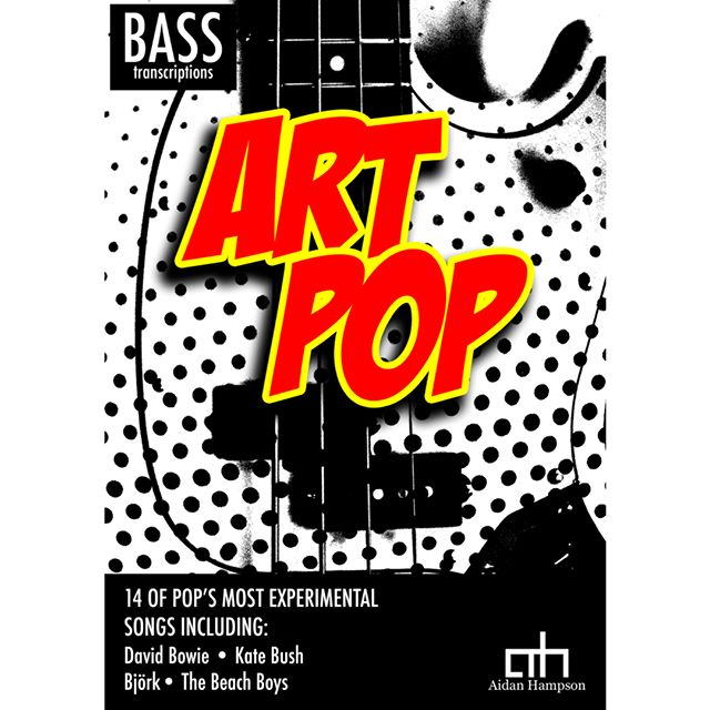 Art Pop - Bass Songbook  For more info - click here: https://bit.ly/2SMcB9L  Featuring songs by:  The Beach Boys The Beatles David Bowie Sparks Roxy Music Kate Bush 10cc The Buggles Talking Heads Pet Shop Boys Grace Jones Blur Björk Florence and the Machine