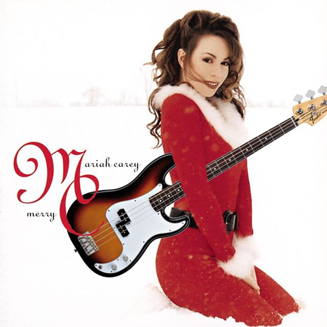 Merry Christmas Bassists!  What better way to spend the festive day than playing bass? I know you don't need an excuse, but this might help:  Mariah Carey - All I Want for Christmas Is You  https://bit.ly/2LzcSdN  Happy Bassing and Merry Christmas!