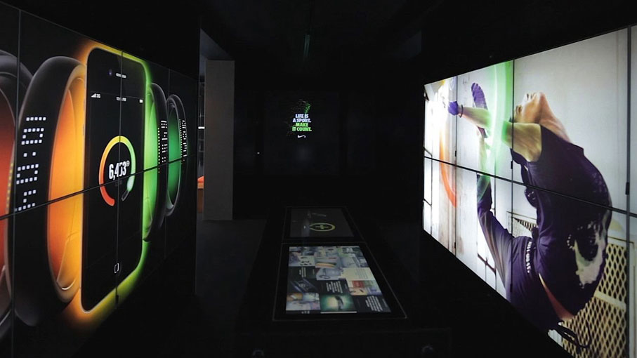 Nike Fuelstation, London digital store experience