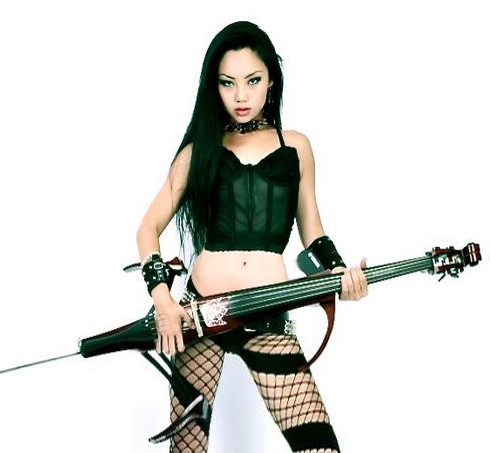 Cellist Tina Guo