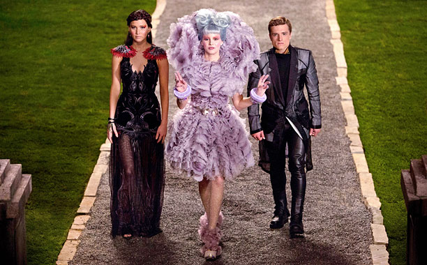 Katniss, Wiress and Peeta in Hunger Games: Catching Fire