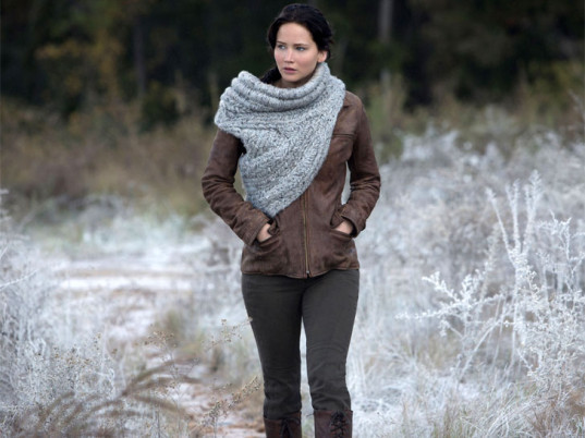 Katniss Everdeen in sweater armor