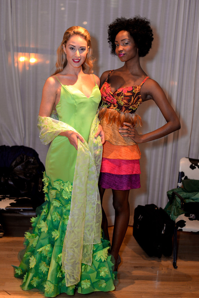 Myself and Willow, fellow LTAChicago model.
