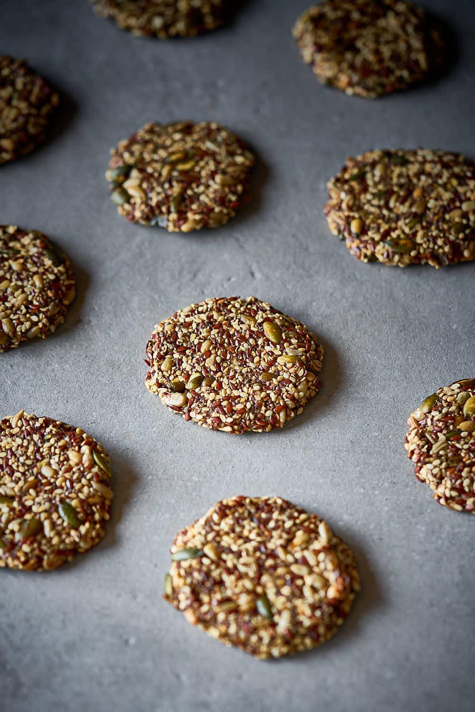 Saaten-Cracker - knusprig & lecker