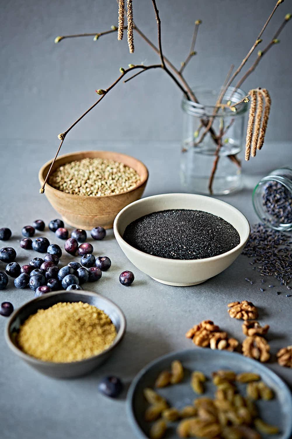 Hirse-Buchweizen-Amaranth-Speise - glutenfrei