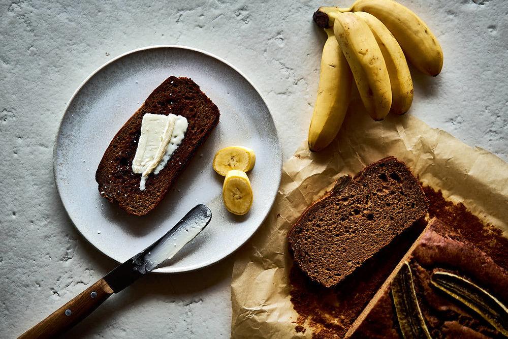 Bananenbrot - glutenfrei
