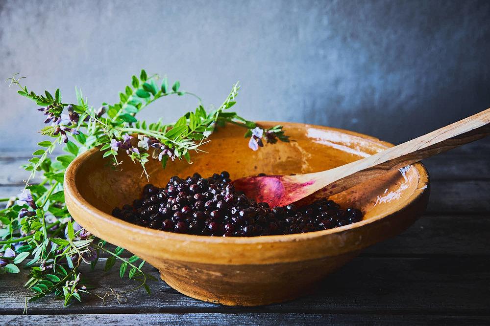 Heidelbeer-Vanille-Tarte - glutenfrei