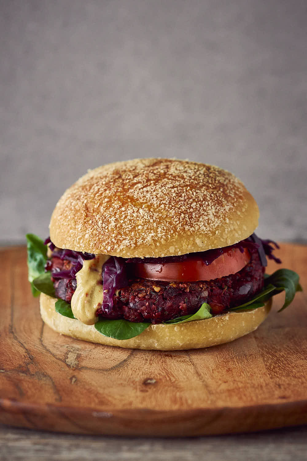 Rote Beete-Burger