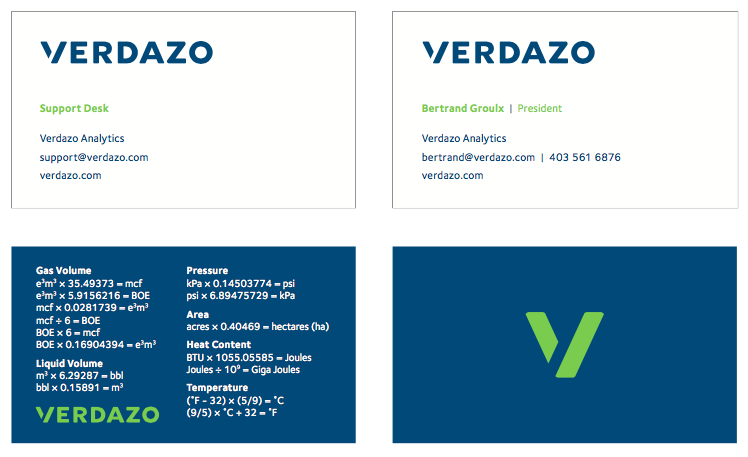 brand identity / business cards / digital letterhead
