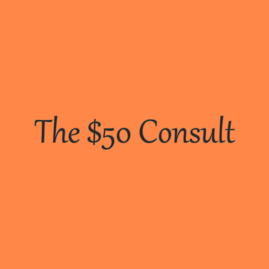 $50 initial consultation on family law matters