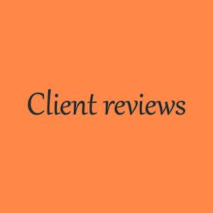 Reviews and testimonials (external link to Avvo.com)