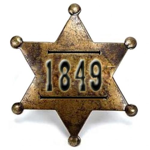 1849's Badge