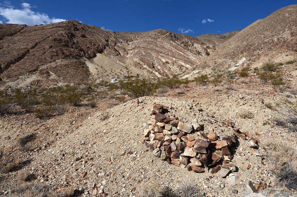 A stone ruin.