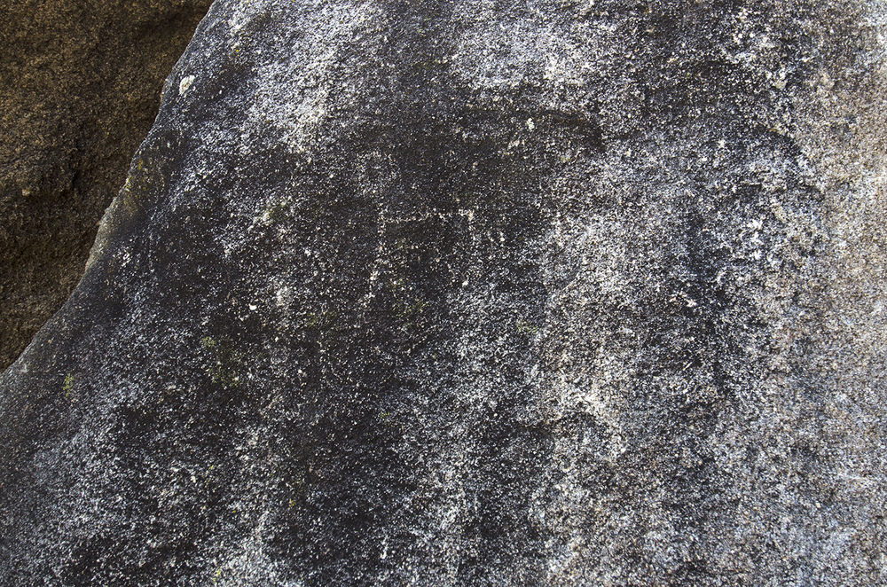 Sometimes I think I might be imagining things, but I kinda see a petroglyph on this rock.