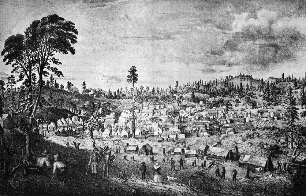 Columbia, 1852