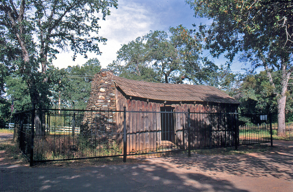 Mark Twain Cabin replica