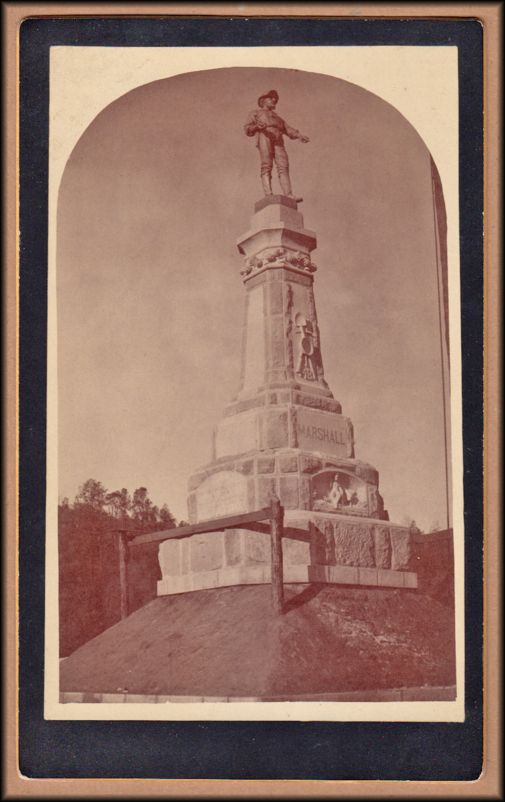 Marshall Monument Cabinet Photo
