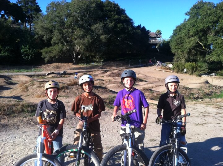 Local Groms at the Aptos Pump Track