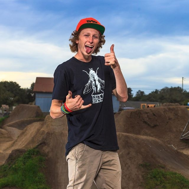 Owen:   Where to start... Master dirt jumper - goofy gangly ginger haired mega grom of Aptos. Amazing human, better digger.  #RideOrDie