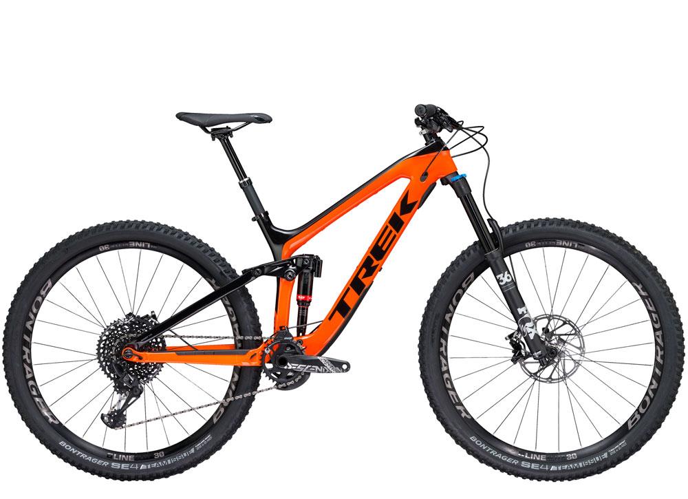 Slash 9.8 full suspension mountain bike for demo or rent