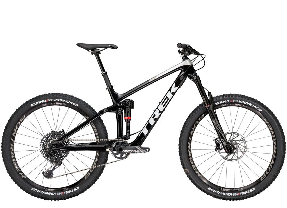 remedy 9.8 full suspension mountain bike for demo