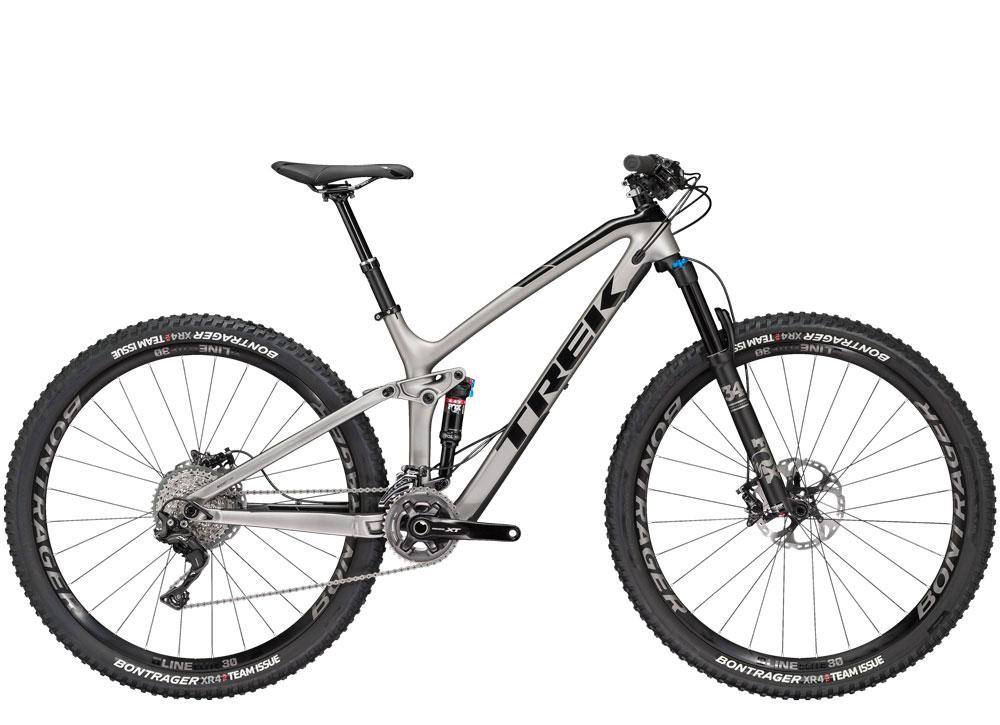 Fuel 9.8 full suspension mountain bike for demo