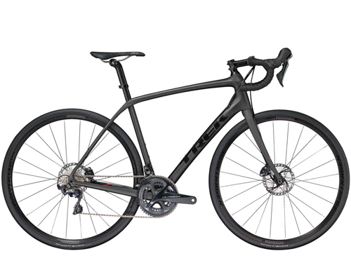 Domane SL 6 Disc has all the road-smoothing advantages of a carbon frame with Front and Rear IsoSpeed, hydraulic disc brakes and full Shimano Ultegra groupset. - It's a performance road bike that's both fast and comfortable—with disc brakes, high-end parts, quality wheels, and a lightweight carbon frame.