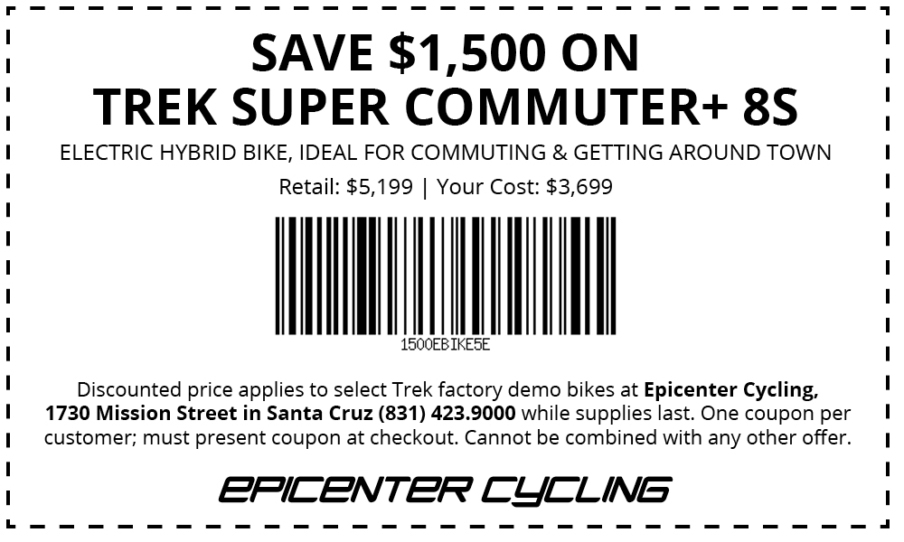 Electric bike coupon