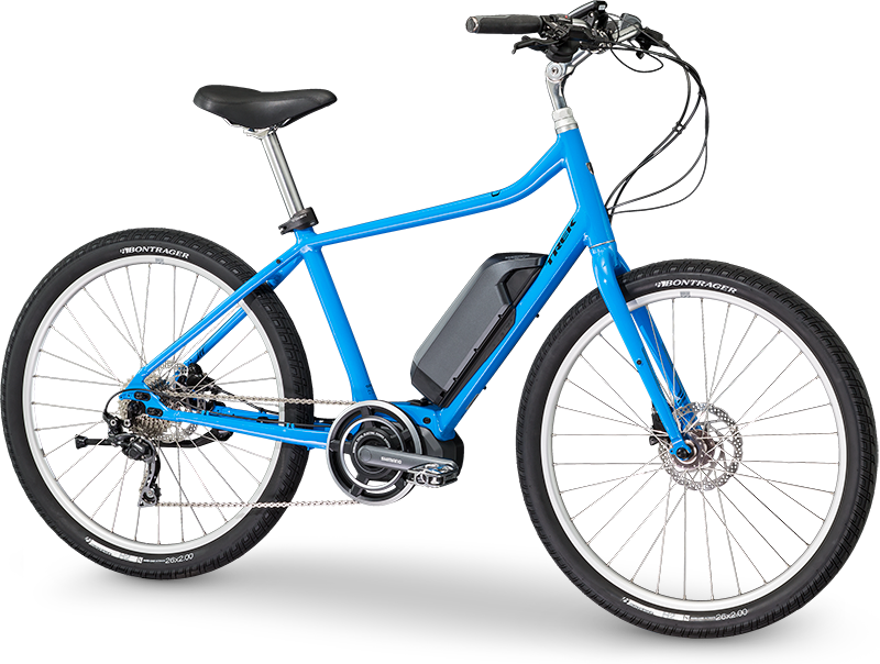 Trek Lift+. Electric hybrid Bike, ideal for recreation & getting around town