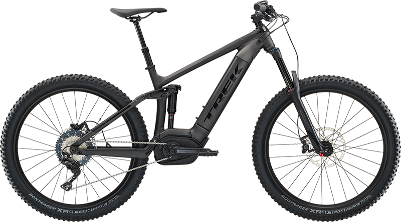 Trek Powerfly FS 7. Electric full suspension mountain Bike, ideal for dirt trail adventures