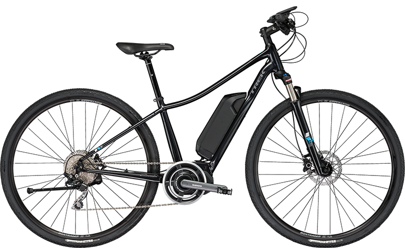 Trek Neko+. Electric Hybrid Bike, ideal for paved & dirt explorations
