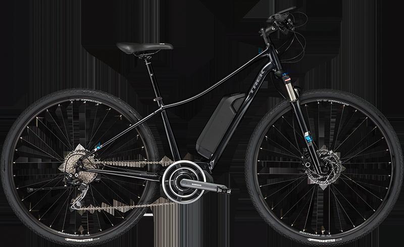 Trek Neko+. Electric Hybrid Bike, ideal for paved & dirt explorations