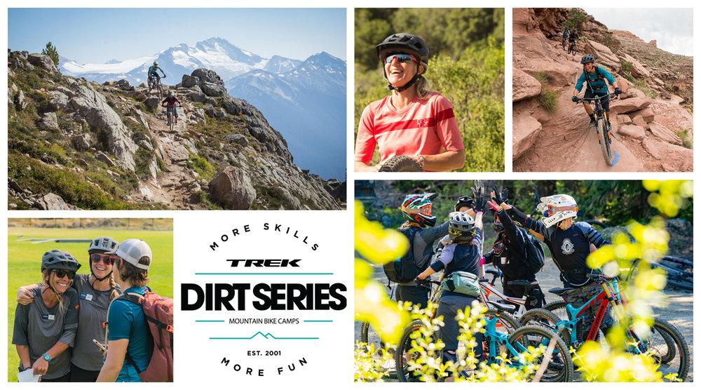 Trek Dirt Series Mountain Bike Camps