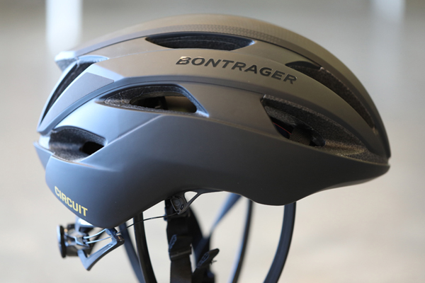 < Bontrager Circuit MIPS - Bontrager's Circuit MIPS is the go-to helmet for a rider who does it all. It's the perfect safety gear choice that will give you all the protection you need for your after work and weekend-road rides, fierce cross-cycling races, and trail journeys. Circuit is specifically designed with regard to aerodynamics. At Bontrager, engineers use wind-tunnel technology and modify a model's design based on user experience from professional riders. The product is an artistically ventilated and lightweight rendition of a model designed to please the masses. Available in a variety of colorways.