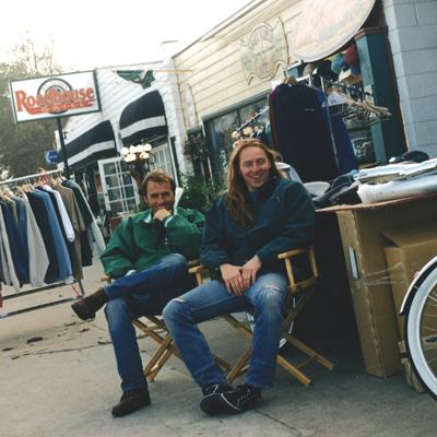 Of course, we'll never forget that time we hung out with Electra founders Benno Bänziger and Jeano Erforth in front of their very first store in SoCal. #inourdreams