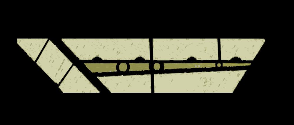 План существующей аллеи