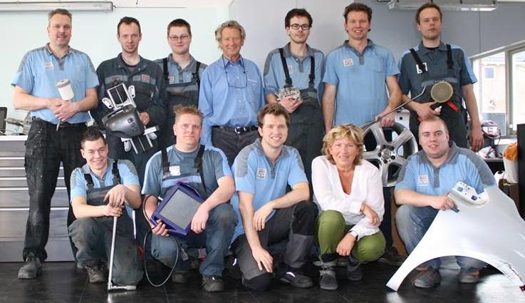Het team van Autobedrijf Wout Bouman: gepassioneerde mensen!