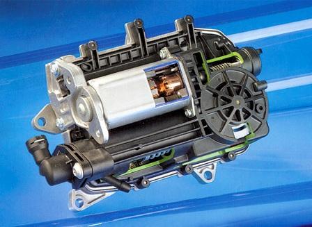 Koppelingsactuator van de Easytronic versnellingsbak