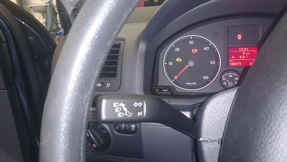 Deze VW Golf VI beschikte niet over cruise control