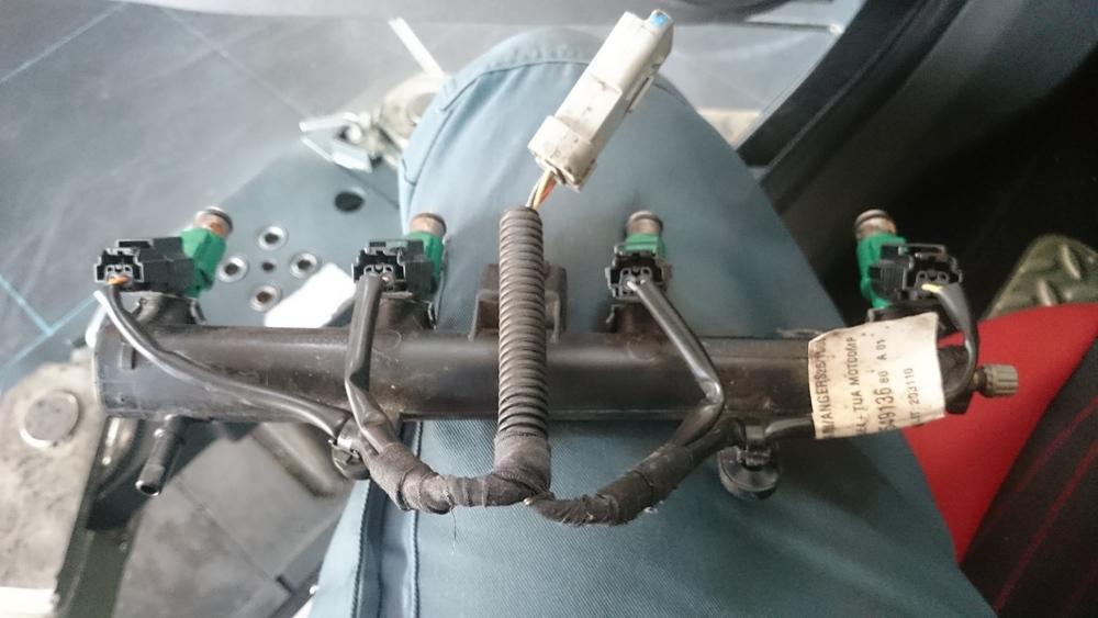 Peugeot 206 injectoren